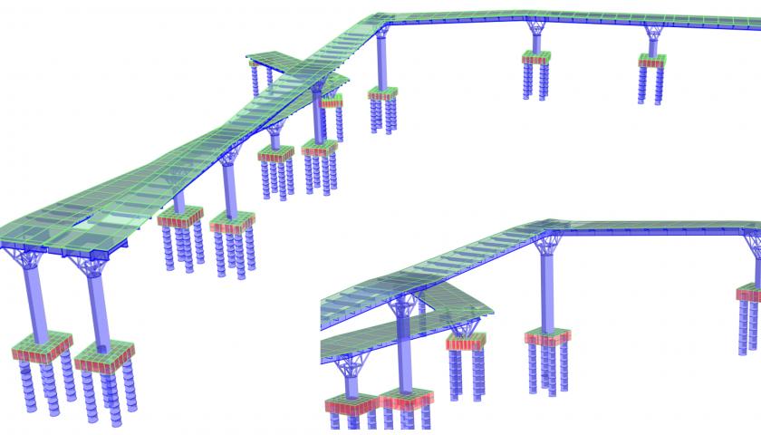 1. Puente peatonal Blanquizal