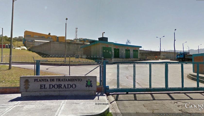2. PTAP El Dorado, Entrada – Fuente Google Earth