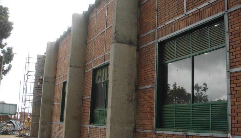 3. Estación de Bombeo Qunidio, reforzamiento con platinas metálicas