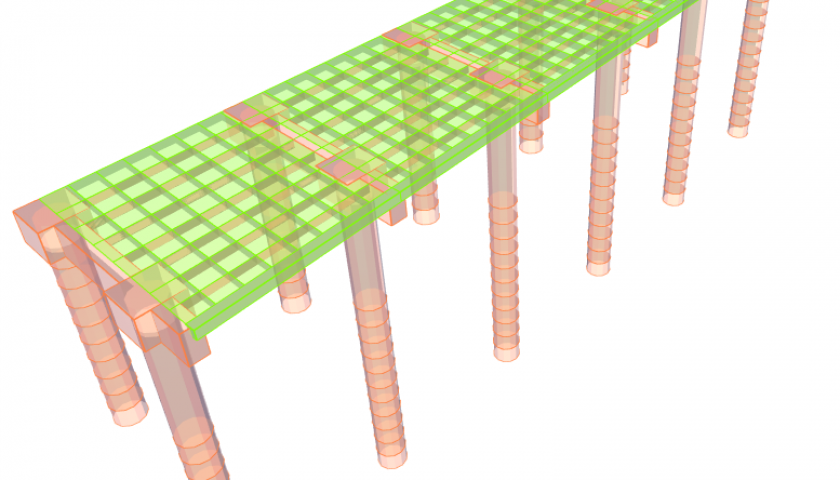 4. Construcción completa del puente - Etapa 2