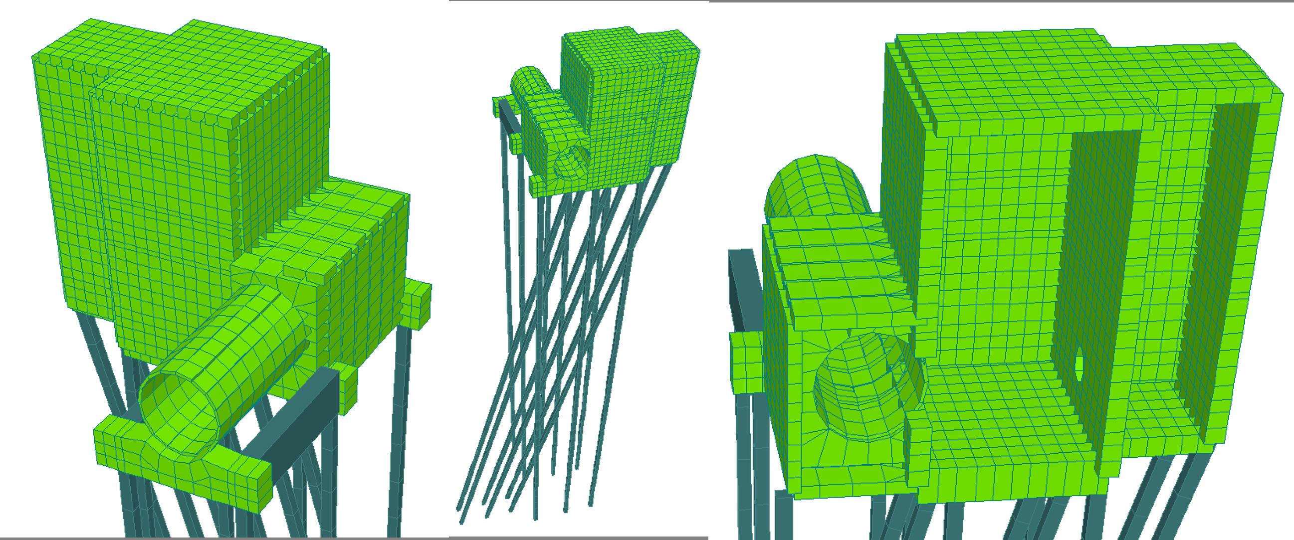 5. Tuberia Tibitoc-Usaquen,  tramo inestable estructura sobre pilotes inclinados, caja purga 20 pulgadas