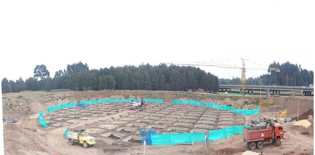 6. Excavación del tanque