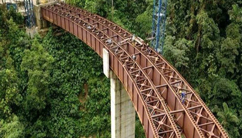 Avance Puente Campucana - Fuente Consorcio Ambiental San Francisco - Mocoa