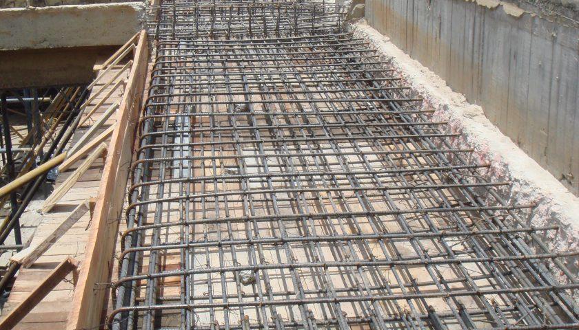 5. Tanque Uval Viejo, construcción vigas de cubierta
