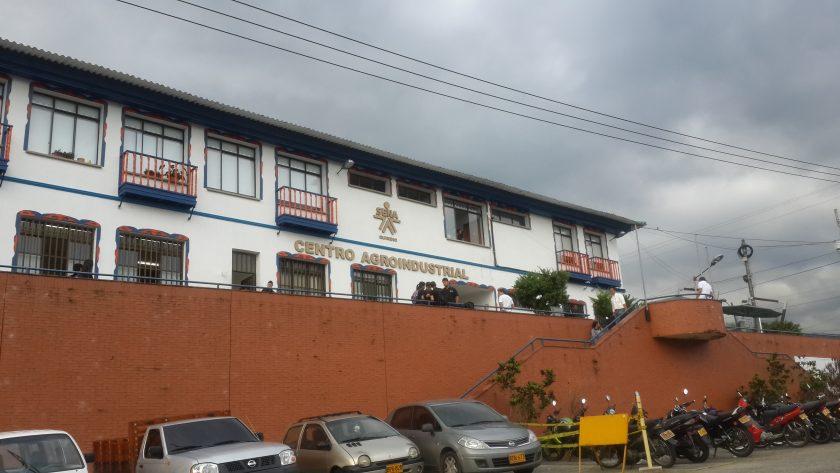 Estructura N°33 Edificio Principal Sena Agroindustrial