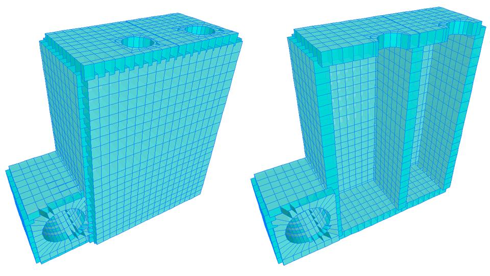 Caja lc24, la cual alberga un sistema de purga y tiene un pozo de drenaje