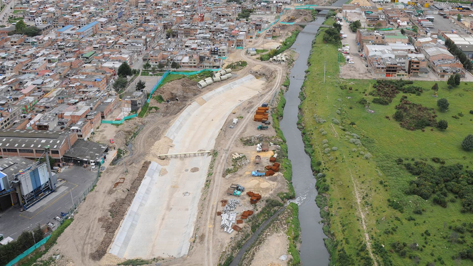 Construcción Canal del Fucha