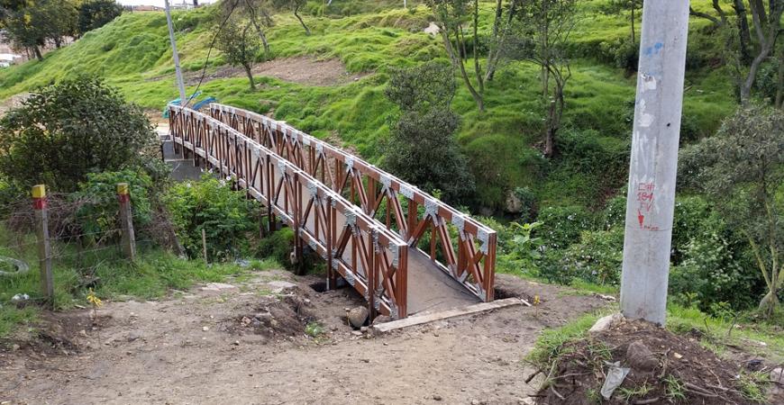 Puente en Madera